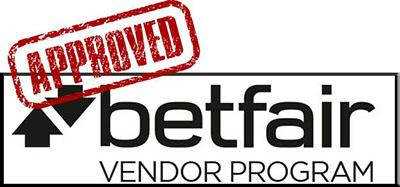 Betfair approved Vendor